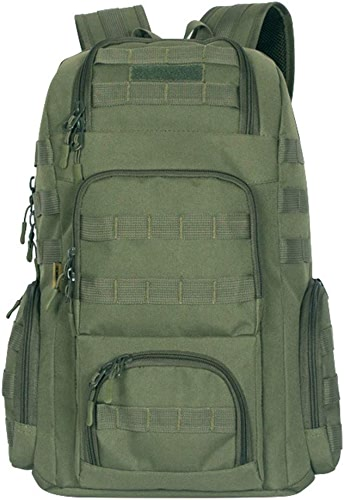 Mulier CB0011 Sac à dos de randonnée, Armyvert (Vert) - CB0011-Armyvert