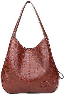 Bolsa de Mão Feminina Vintage Bolsa de Ombro