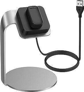 Asotagi Kompatibel med Fitbit Luxe laddningsstation bärbar laddningsbas