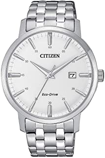 CITIZEN Mens Solar Powered Watch, Chronograph Display and Stainless Steel Strap - CB5848-57L