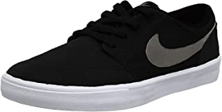 Men's Sb Portmore Ii Solar Canvas Ankle-High Skateboarding Shoe