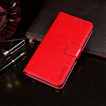 Oukitel U7 Plus Case, PU Leather Stand Wallet Flip Case Cover for Oukitel U7 Plus,Business Style Phone Protection Shell,The case with[Cash and Card Slots]