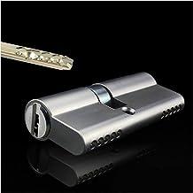 Euro cilinderslot 70mm uitwisselbare anti-diefstal zware beveiliging Hotel Commerciële Grade 2 Deur Handvat Hendel Moordve...