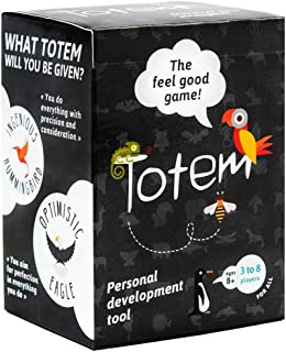 Totem the feel good game, Self-Esteem Game for Team Building, Family Bonding, Counseling and Therapy