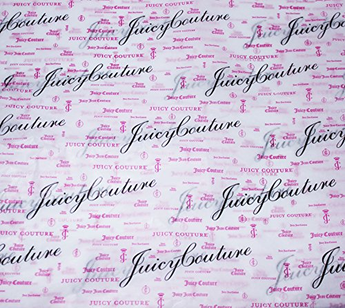 Juicy Couture All Occassions Gift Wrap Tissue Paper (Juicy Couture Script Lettering)