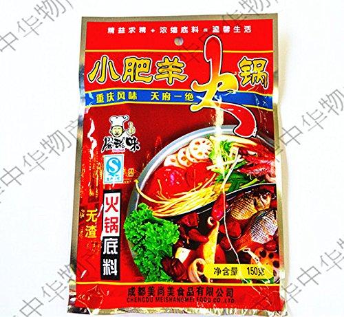 蜀滋味 小肥羊鍋の素( 麻辣) 中華火鍋の素 中華食材 150g