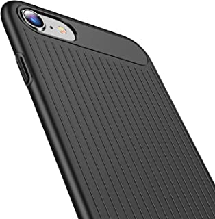 TORRAS iPhone 7 Case, iPhone 8 Case, Slim Solid Grip Hard Plastic Thin Fit Anti-Scratch Cover Case Compatible with iPhone 7 (2016)/iPhone 8 (2017)-Matte Black