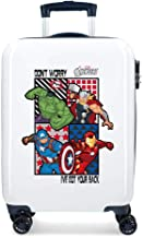 Marvel All Avengers - Maleta de Cabina, Multicolor, 55 cm