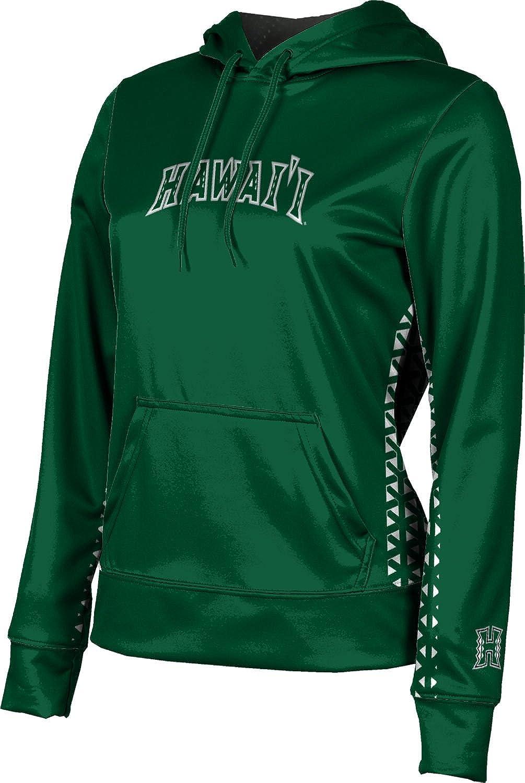 ProSphere University of Hawaii Girls' Pullover Hoodie, School Spirit Sweatshirt (Geo)