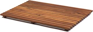 AsinoX TEK4A50100 - Tarima de ducha y baño, madera de teca, 100 x 50 cm