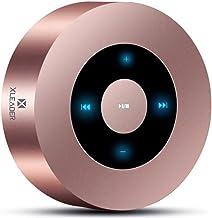 [LED Touch Design] بلندگوی بلوتوث، اسپیکر قابل حمل XLeader با HD Sound / 12 ساعت پخش زمان / بلوتوث 4.1 / پشتیبانی میکرو SD برای آیفون / iPad / Tablet / Laptop / Echo dot (گل رز)