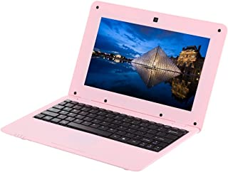 Delicate and portable 10.1 inch Notebook PC, 1GB+8GB, Android 6.0 A33 Dual-Core ARM Cortex-A9 up to 1.5GHz, WiFi, SD Card, U Disk Home/office/gaming (Color : Pink)