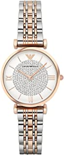 Emporio Armani Women's AR1926 Retro Two Tone Watch
