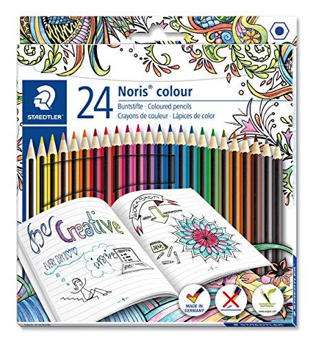 Staedtler Noris Colour - Paquete de 24 lápices de colores