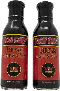 Iron Chef Teriyaki Baste And Glaze 14.5 Ounce (Pack of 2)