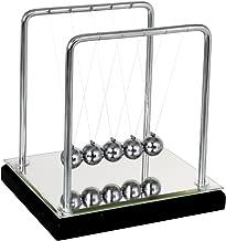 Mirror Newtons Cradle Balance Balls Science Psychology Puzzle Desk Fun Gadget (Mirror)