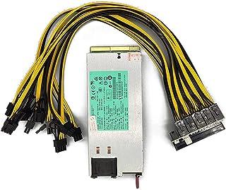 TEEAN 1200W Miner Power Supply DPS-1200FB A 438202-002 DL580G5 1200W PSU Ethereum Apw3 BTC Asic Bitcoin Miner Breakout Box