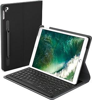 iPad Pro 10.5 キーボード Smart Connector接続 充電不要 ケース付け Apple Pencilケース付け バックライトキーボード調節可能 iPad Pro 10.5/iPad Air 2019に対応
