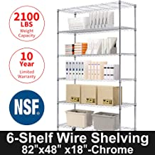 Storage Metal Shelf 6 Tier 82