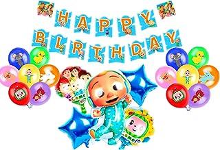 Cocomelon theme party balloon supplies children's birthday balloons baby bath balloons cocomelon theme party decoration ba...