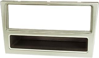 tomzz Audio 2439 071 Radioblende kompatibel mit Opel Corsa C Combo Omega B Vectra C Meriva Suzuki Ignis Wagon R matt Chrom