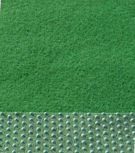 Kunstrasen, 133/200 / 400cm Breite, Rasenteppich, mit Noppen angenehm weich, Farbe grün (600 x 200 cm)