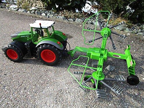 RC Auto kaufen Traktor Bild 2: RC Traktor FENDT 1050 SCHWADER-Anhänger XL Länge 70cm