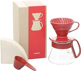Hario Kaffeberedningsset, rött