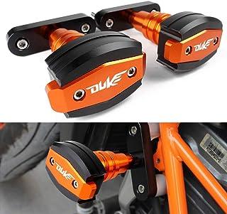 オートバイエンジンガード フレームスライダー バイクエンジンプロテクター 適合車種 KTM Duke デューク 125 200 390 2013-2018