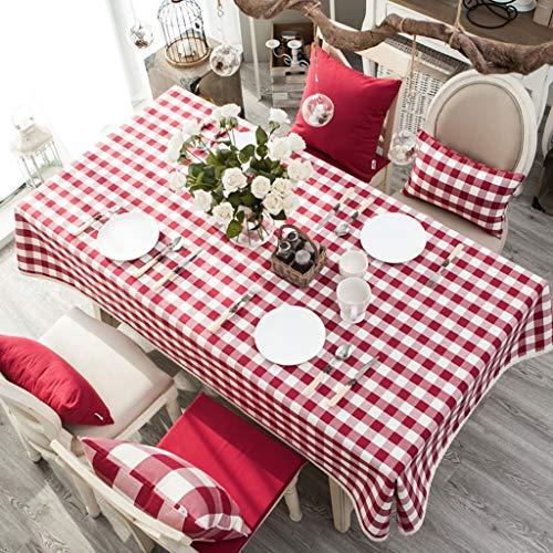 Nappe imperméable anti-ébouillantage antipoussière Couverture de table de simplicité moderne pour la cuisine, table, buffet, décoration (taille : 130 * 210cm)