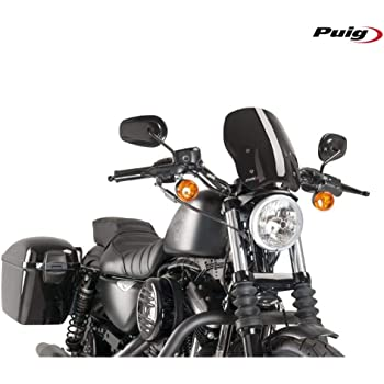 Puig New Generation Windshield Harley Sportster C//Clear Custom 04-17 // Iron 09-17 // 883R 02-17 // NIGHTSTER 08-17 // Superlow 11-17