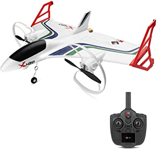 Sallymonday RTF RC Airplane with Safe Technology 3D/6G Aerobatic Vertical Take-Off Ultra Stable Easy to Fly   2.4G 6CH EPP Material   for Beginners 14+ Years Old Kids Adult