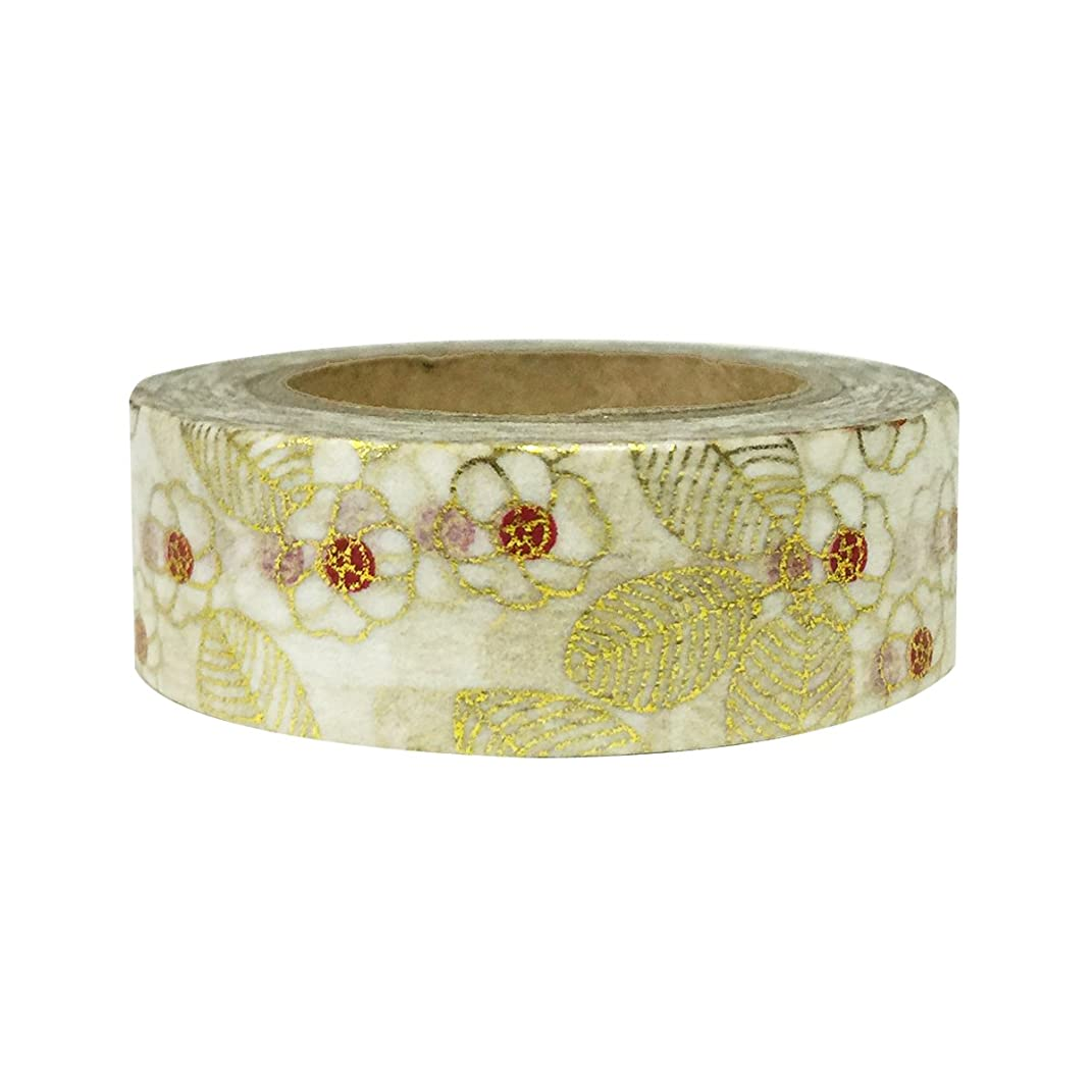 AllyDrew Washi Tapes Decorative Masking Tapes, Asian Floral Decor
