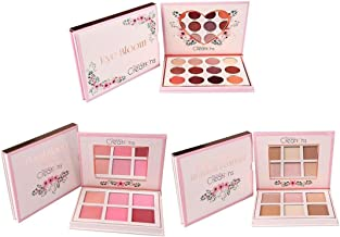 Beauty Creations Floral Bloom 3-Piece Complete Set (Blush, Eyeshadow, Highlight & Contour)