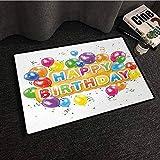 Balance-Life Cumpleaños, Las Palabras Feliz cumpleaños con Globos Vivos...