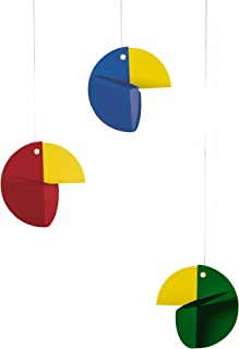 Flensted Mobiles Talking Tree Colored Hanging Nursery Mobile - 24 Inches Plastic