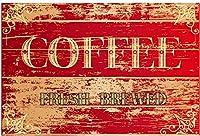 オリジナルレトロデザイン新鮮醸造コーヒー錫金属サイン壁アート