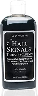 Copper Peptides for Hair Loss Hair Signal Solution by Dr. Pickart 4 oz.