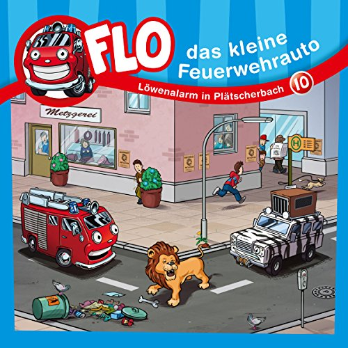 Löwenalarm in Plätscherbach  By  cover art
