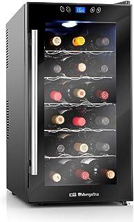 comprar comparacion Orbegozo VT 1860 – Vinoteca 18 botellas, 52 litros de capacidad, temperatura regulable, panel táctl, display digital, luz ...