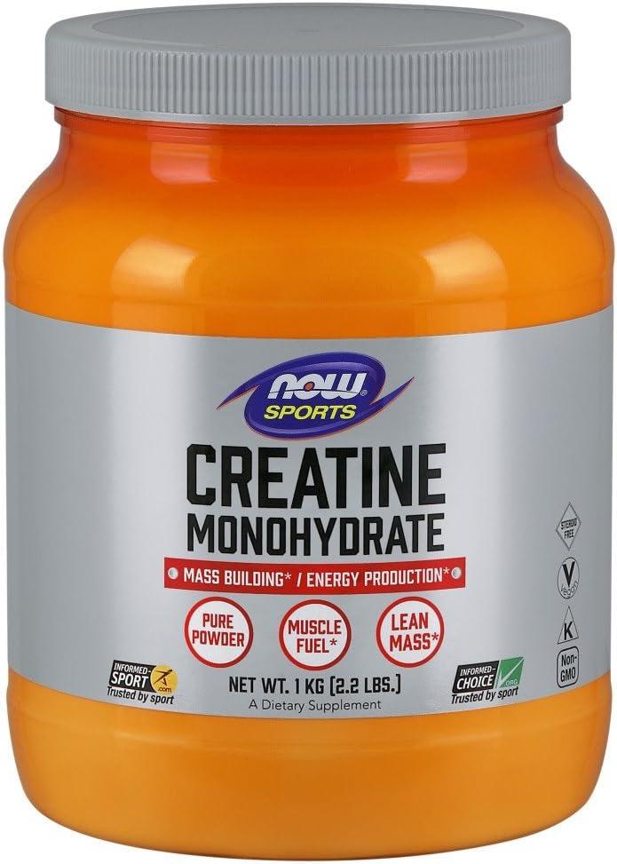 NOW Sports Nutrition, Creatine Monohydrate Powder, 2.2-Pound