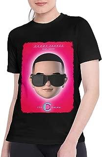 EMILY MORAN T Shirts for Women Vintage Daddy Yankee T-Shirt Black