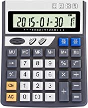 $66 » Basic Calculator Electronic Desktop Voice Calculator, 12-bit Large Display Battery Or Solar Power Office Calculator,Multipurpose Office Calculators for Daily and Basic Office