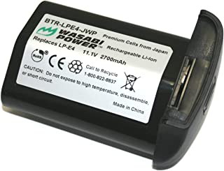 Wasabi Power Battery for Canon lp-e4 and CanonキヤノンEOS 1d C、キヤノンEOS - 1dマークIII、キヤノンEOS - 1dsマークIII、キヤノンEOS - 1dマークIV