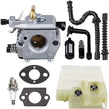 Savior MS260 Carburetor with Gasket Air Filter Fuel Filter Fuel Line Oil Line Spark Plug for Stihl 024 Carburetor 026 MS240 MS 260 1121 120 0611