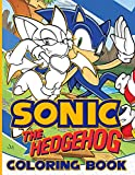 Sonic The Hedgehog Coloring Book: Stunning Coloring Books For Kid And Adult Designed To Relax And Calm