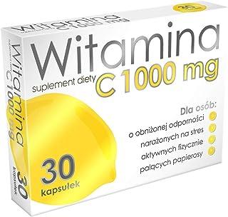 Alg Pharma Vitamina C 1000 mg - 1 paquete x 30 cápsulas - Ácido L-ascórbico puro - Soporte