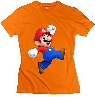Vintage Super Mario 3D World Women's Tshirt Red