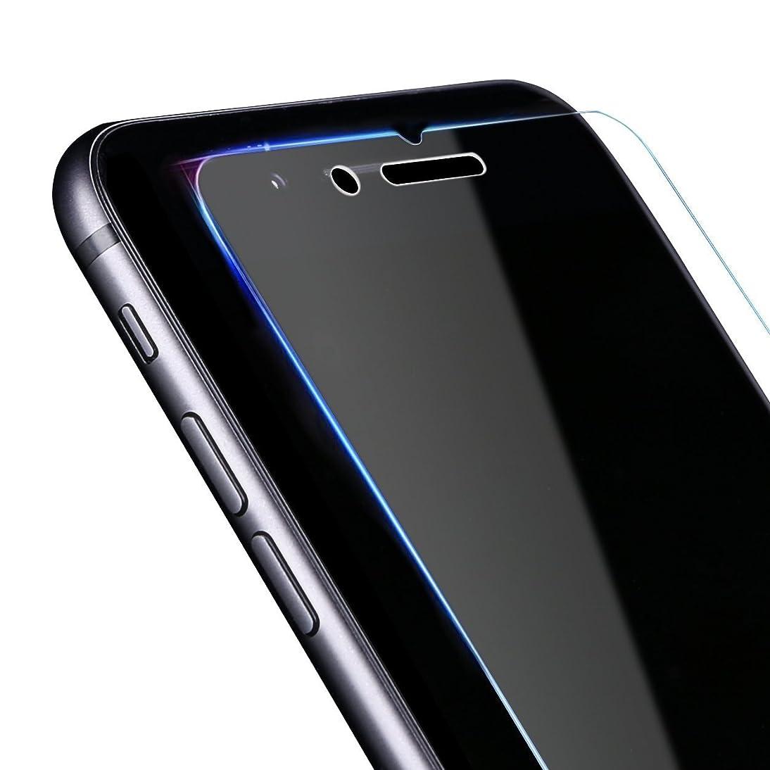 福祉ヒューマニスティックスマートNobelbird iPhone8/iPhone7用 強化ガラス液晶保護フィルム【落としても割れない 業界最高硬度9H】【ワンタッチ貼付け/ケースと干渉せず】3D Touch対応/飛散防止/指紋防止/ 2.5D アイフォン8/アイフォン7用 ガラスフィルム 超薄0.33mm