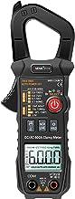 Romacci Alicate Amperímetro Digital Alicate Amperímetro AC / DC Multímetro True-RMS Multímetro de Alcance Automático com A...